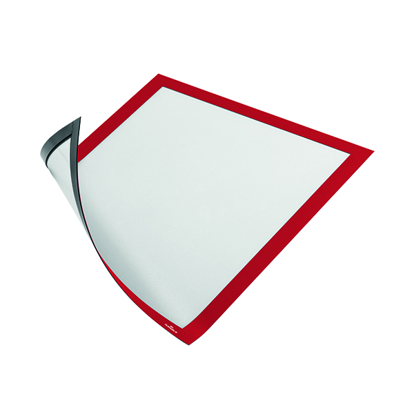 Durable Duraframe Magnetic A4 Red (Pack of 5) 486903