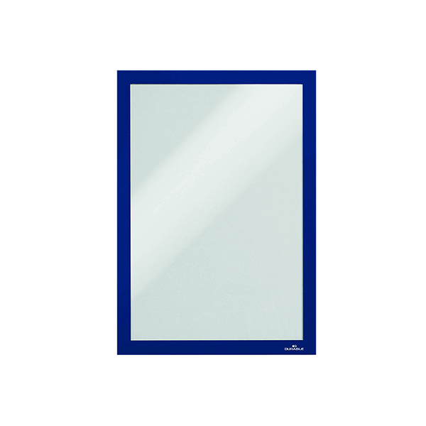 Durable Duraframe Self-Adhesive A4 Blue (Pack of 10) 4882/07