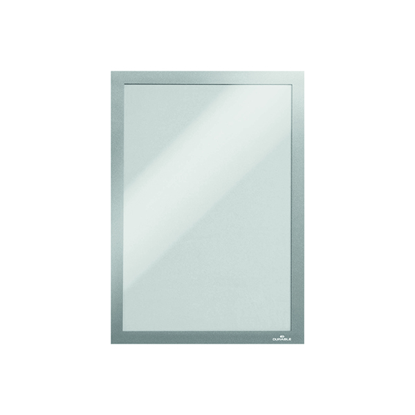 Durable Duraframe Wallpaper A4 Silver (Pack of 10) 488223