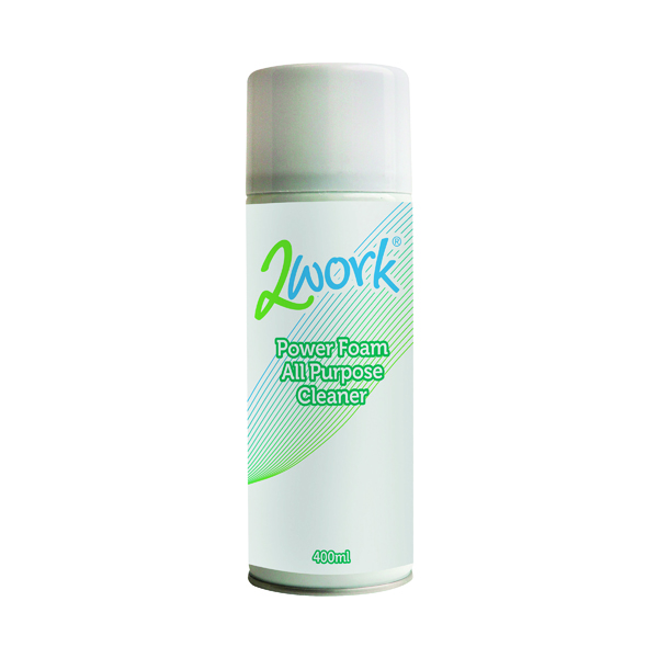 2Work Power Foam All Purpose Cleaner 400ml