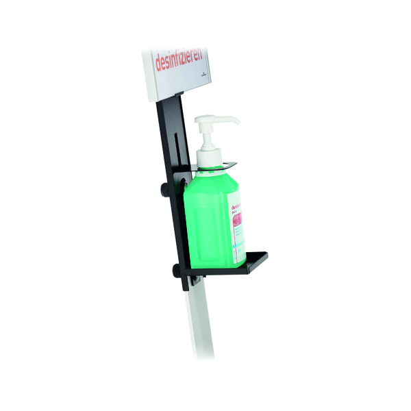 Durable Disinfection Floor Standing Dispenser/Info Board 589223