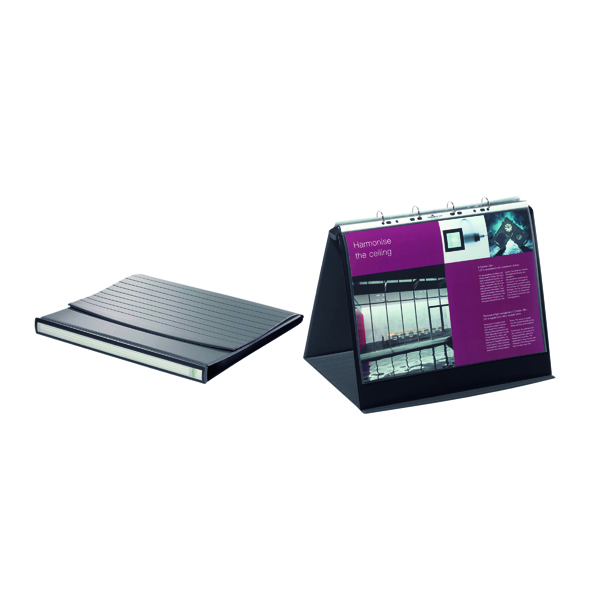 Durable Durastar Table Top Presenter A3 Landscape Graphite 8569/39