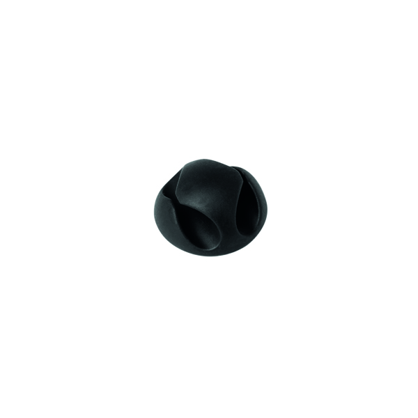Durable Cavoline Cable Management Clip 2 Graphite (Pack of 6) 503837