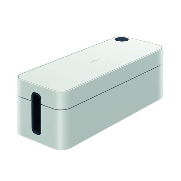 Durable Cavoline Cable Management Box L Grey 503010