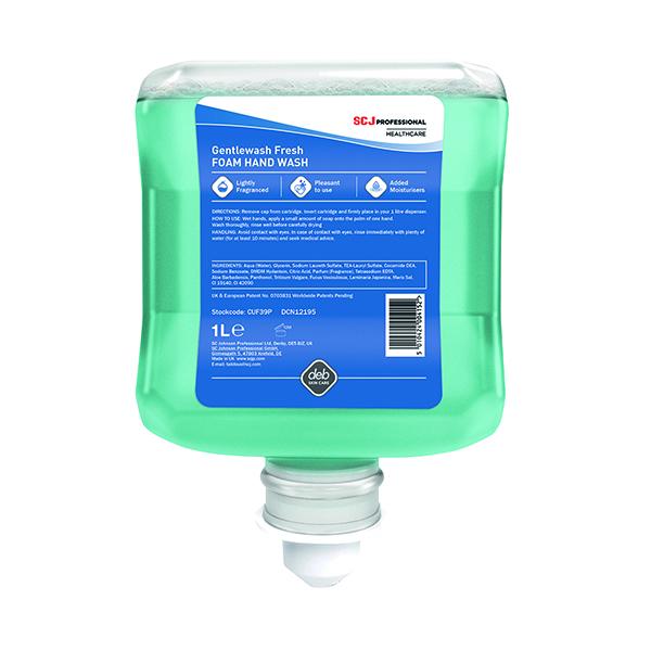 Deb Cutan Gentle Hand Wash Cartridge 1 Litre  CUF39P