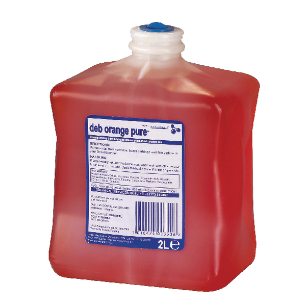 Deb Estesol Orange Lotion 2 Litre Cartridge DOP2000L