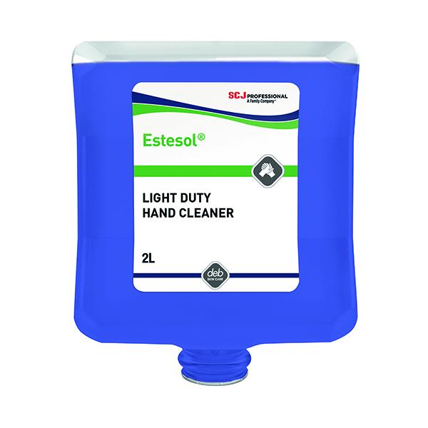 Deb Estesol Lotion Wash 2 Litre Cartridge (For use with Deb Cleanse Light 2000 dispenser) LTW2LT