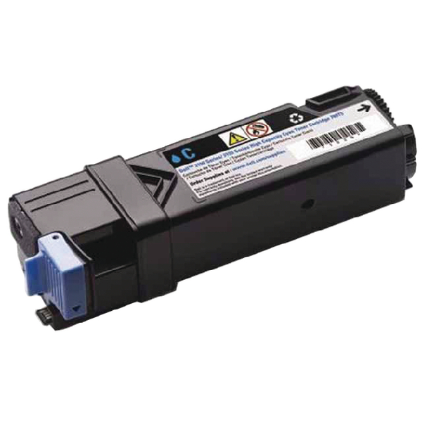 Dell Cyan Toner Cartridge High Capacity (For use with Dell 2150CN/CDN, 2155CN/CDN) 593-11041