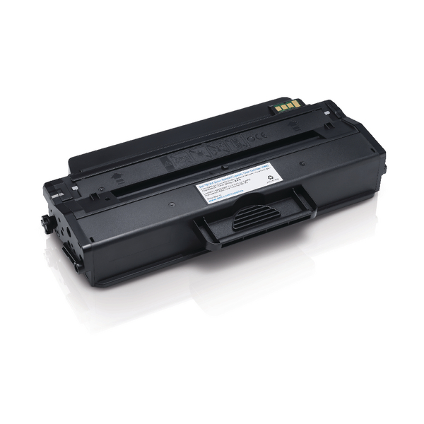 Dell Black Toner Cartridge (1,500 Page Capacity) 593-11110