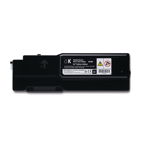 Dell Black Toner Cartridge (1,200 Page Capacity) 593-BBBM