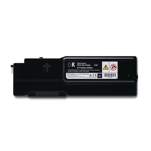 Dell Black Toner Cartridge High Capacity (For use with Dell C2660dn and C2665dnf printers) 593-BBBQ