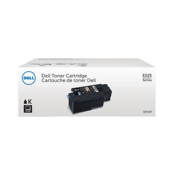 Dell Black Toner Cartridge (2,000 Page Capacity) 593-BBLN