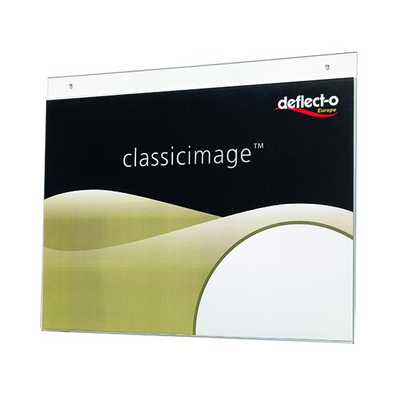 Deflecto Landscape Wall Sign Holder A3 DE48000