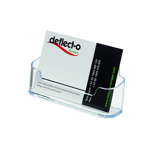 Image for Deflecto Business Card Holder (Max Card Width: 95mm) 70101