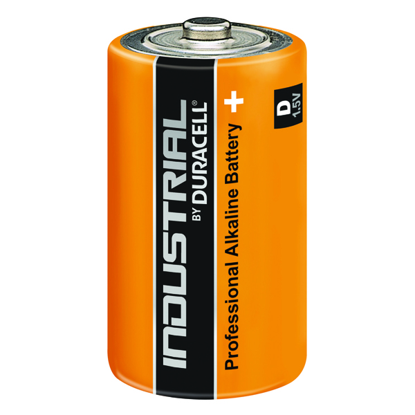 Duracell Industrial D Alkaline Batteries (Pack of 10) 81451917