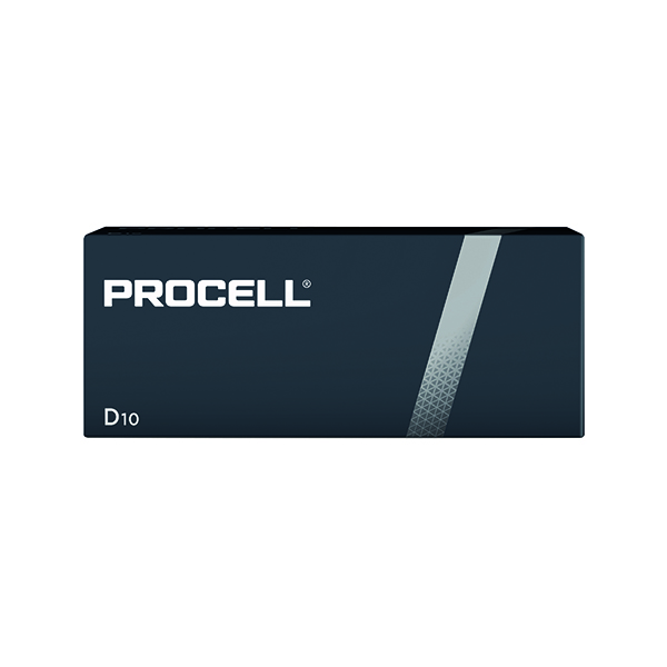 Duracell Procell D Batteries (Pack of 10) 5007610