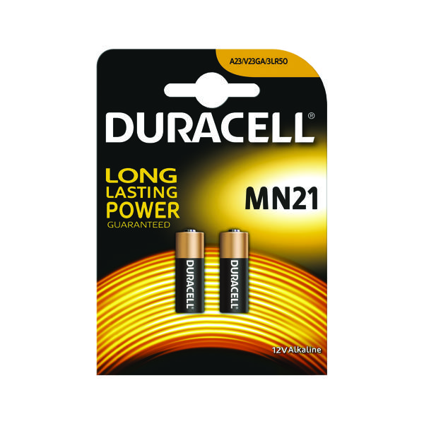 Duracell 12V Car Alarm Battery MN21 (Pack of 2) 75072670