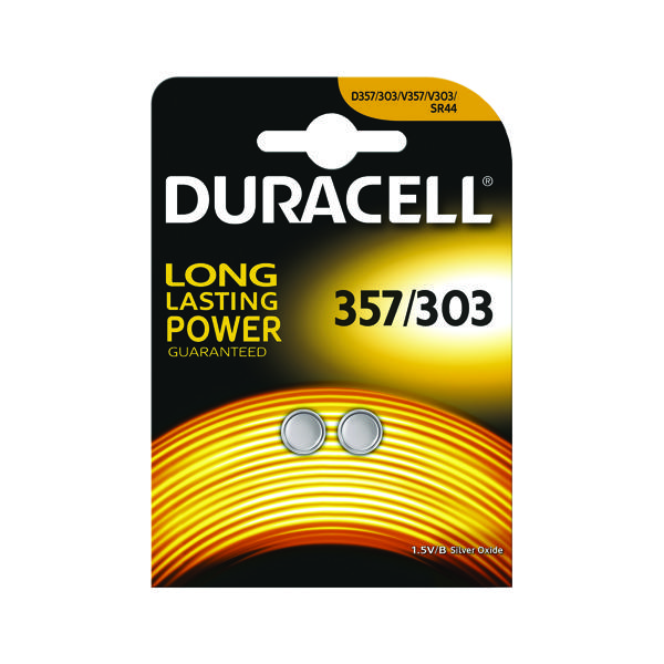 Duracell 1.5V Silver Oxide Button Battery (Pack of 2) 75053932