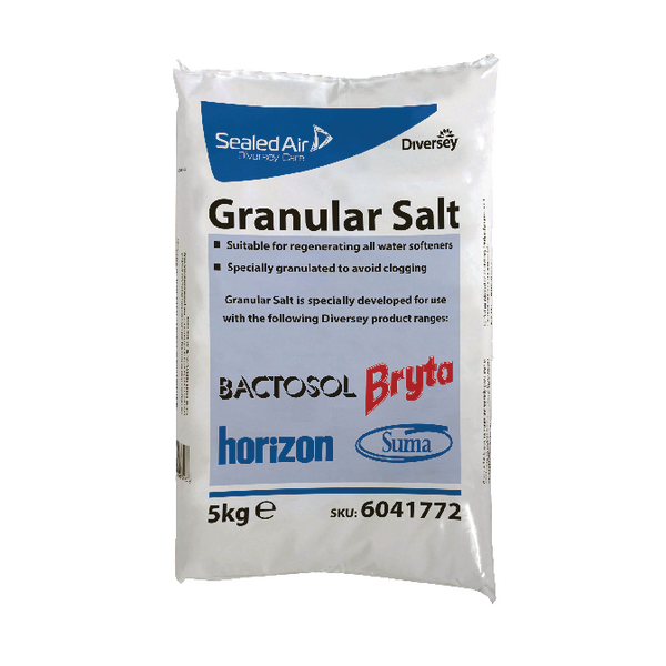 Diversey Granular Salt 5kg (Pack of 3) 6041772