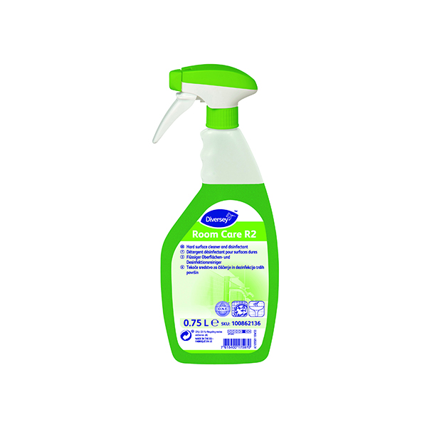 Diversey Room Care R2 Hard Surface Cleaner 750ml (Pack of 6) 100862136