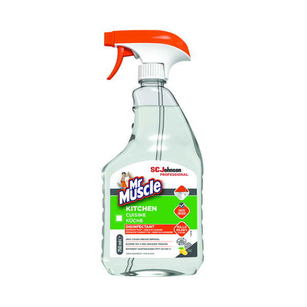 Mr Muscle Kitchen Cleaner 750ml 316525