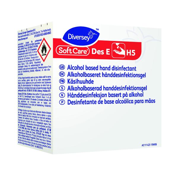 Diversey Soft Care Des E H5 W95 0.8 Litres (Pack of 6) 7519451