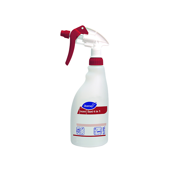 Diversey Spray Disinfectant and Descaler Refill Bottle 500ml (Pack of 5) 7518580