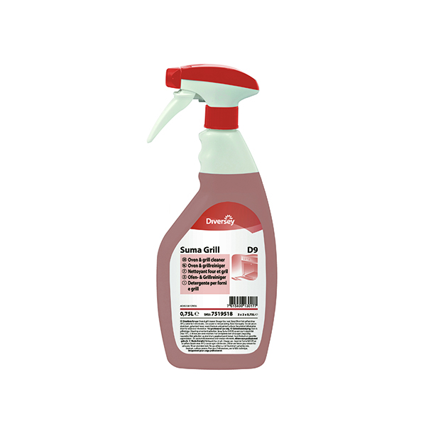 Suma Grill Cleaner D9 750ml (Pack of 6) 7519518