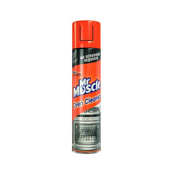 Mr Muscle Oven Cleaner 300ml (Self-scouring foaming formula) 667597