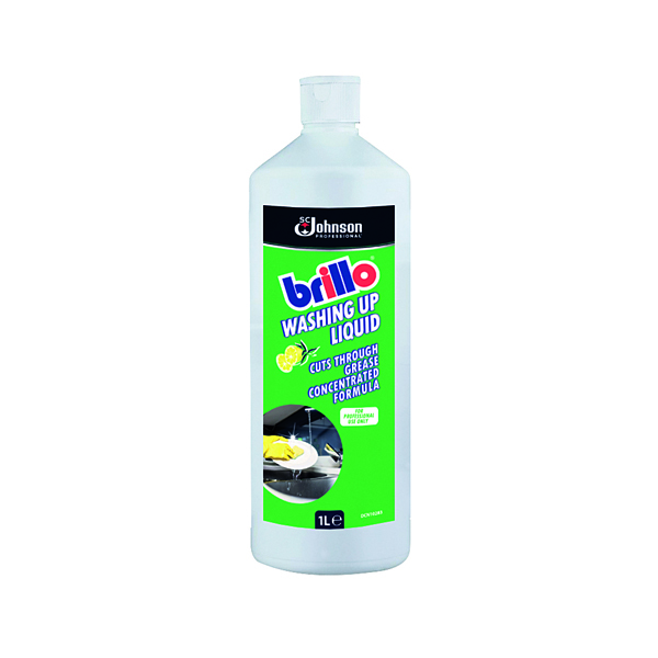 Brillo Concentrated Washing Up Liquid 1 Litre BWU1LTR