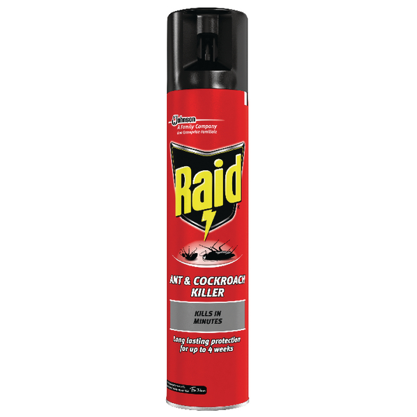 Raid Ant and Cockroach Killer 300ml 665992