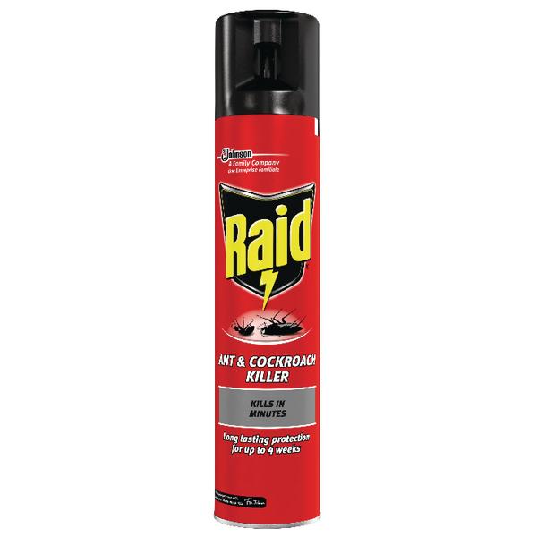 Raid Ant and Cockroach Killer 300ml 665992