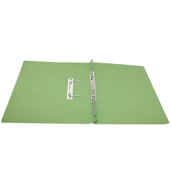 Rexel Jiffex Transfer File A4 Green (Pack of 50) 43244EAST