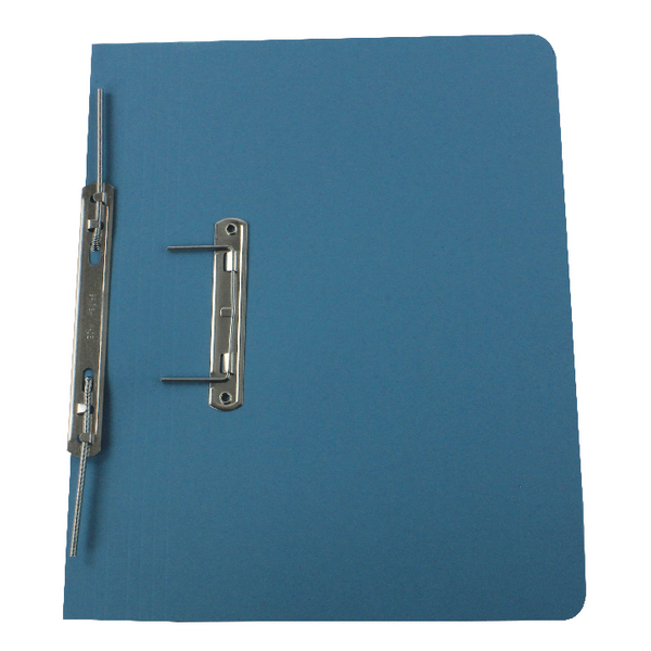 Rexel Jiffex Pocket Transfer File Foolscap Blue (Pack of 25) 43313EAST