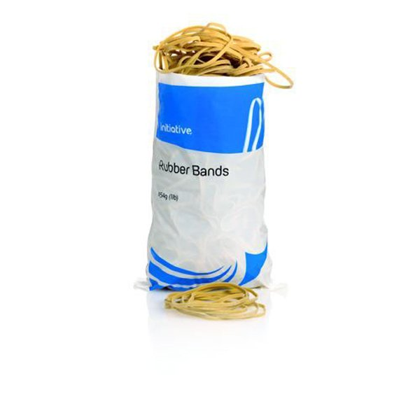 Image for Initiative Rubber Band Assorted Sizes 454g Bags