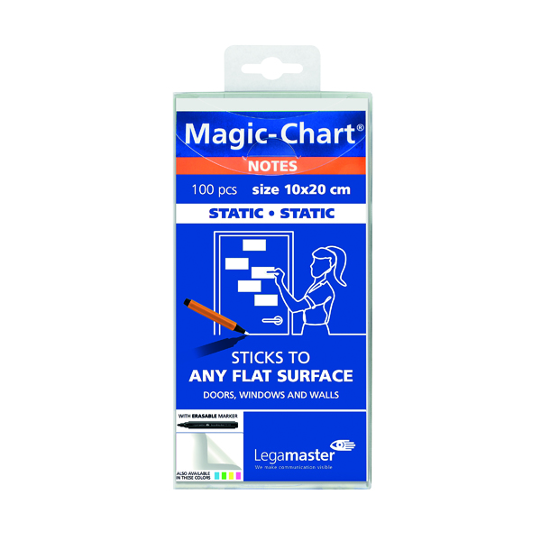 Legamaster Magic Notes 20X10cm White (Pack of 100) 7-159419