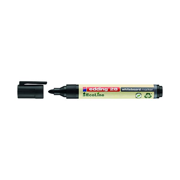 Image for Edding 28 Ecoline Whiteboard Marker Bullet Tip (Pack of 10) 4-28001