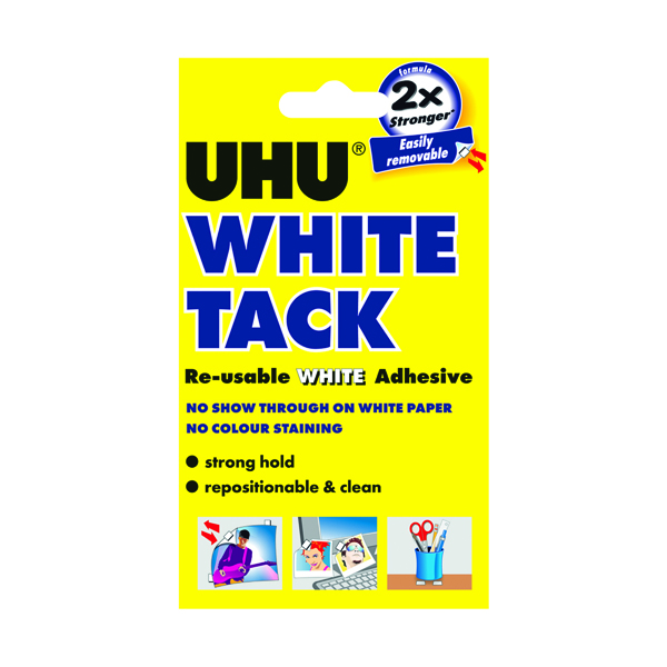 Image for UHU White Tack 50g (Pack of 12) 42196