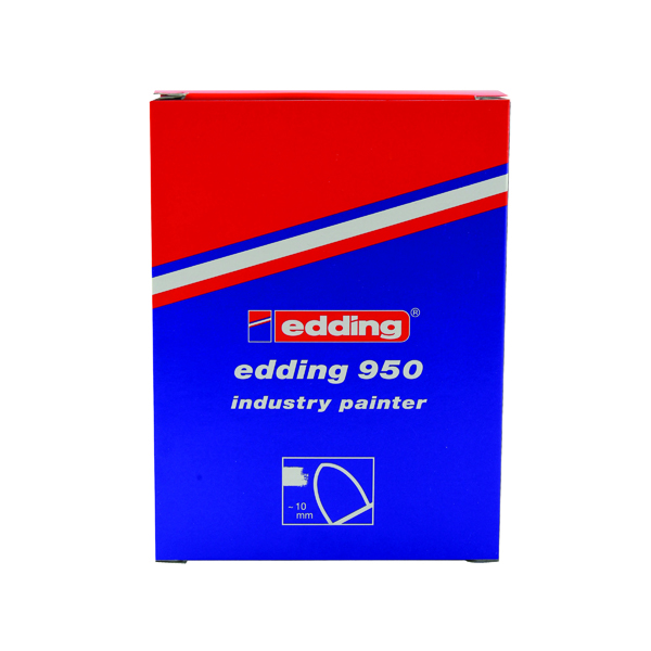 Edding 950 Industry Painter Medium Yellow (Pack of 10) 950-005