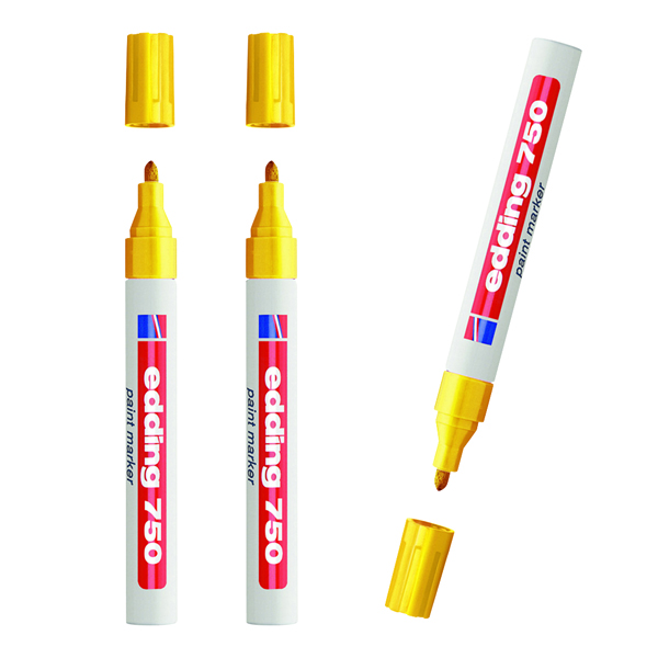 Edding Paintmarker Opaque Yellow (Pack of 10) 3 for 2