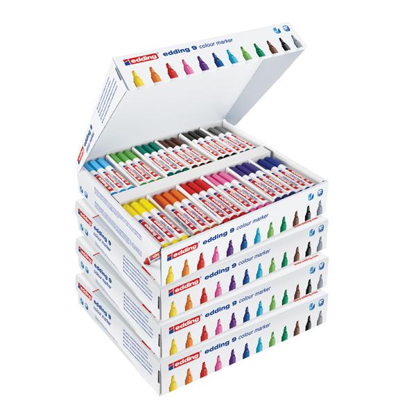 Edding Marker Chisel Class Pack (Pack of 144) 5 for 4