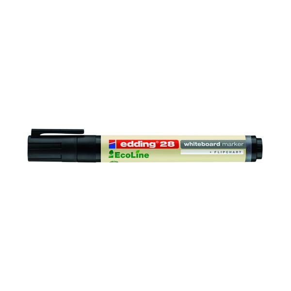 Edding Ecoline Drywipe Marker Black 28-001