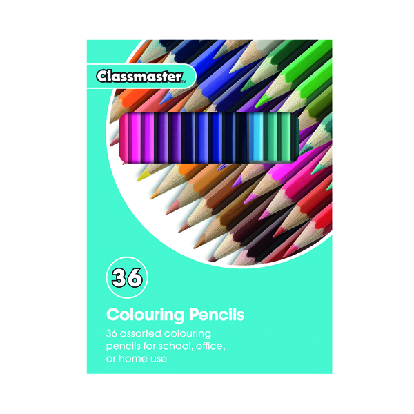 Classmaster Colouring Pencils Assorted (Pack of 36) CPW36
