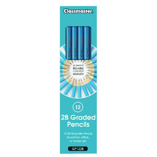 Classmaster 2B Pencil (Pack of 12) GP122B