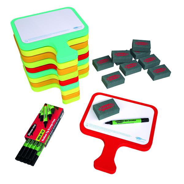 Show-me Foam Bats Magnetic Plain (Pack of 10) CEFBAP10