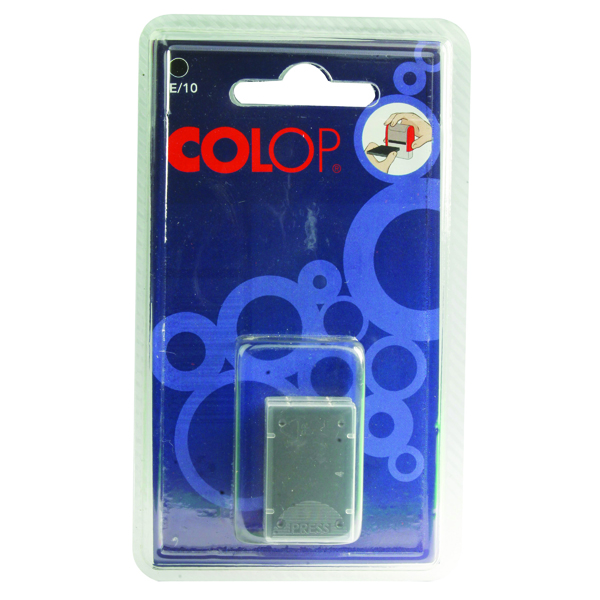 Image for COLOP E/10 Replacement Ink Pad Black (Pack of 2) E10BK