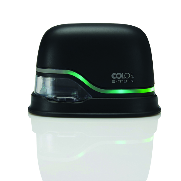 COLOP e-mark Mobile Electronic Printing Device Black 153947