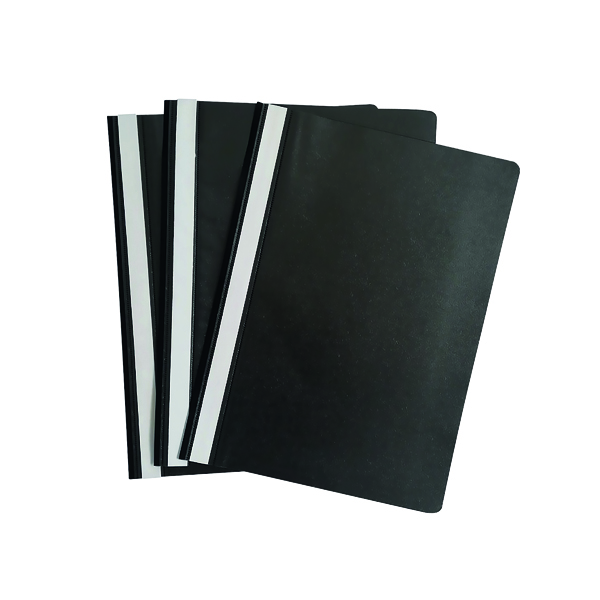 Graffico Project Folder A4 Black (Pack of 100)