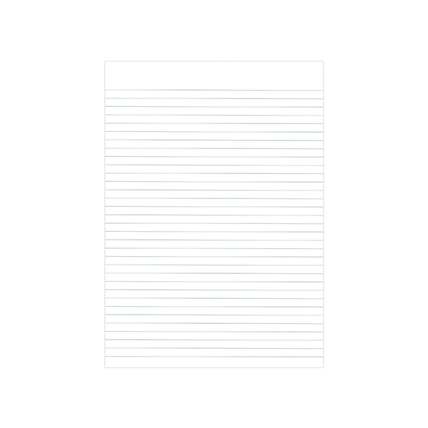 Graffico Recycled Memo Pad 160 Pages A4 (Pack of 10) 9100036