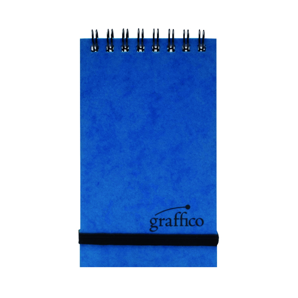 Image for Graffico Twin Wire Pocket Notebook 120 Pages A7 123-0426